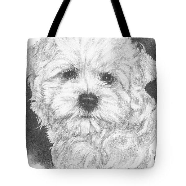 Malti-chon Tote Bag