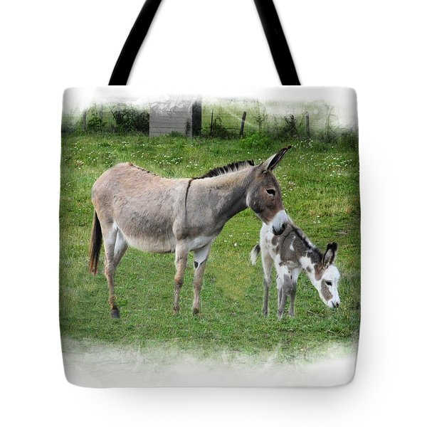 Mama And Bella Tote Bag