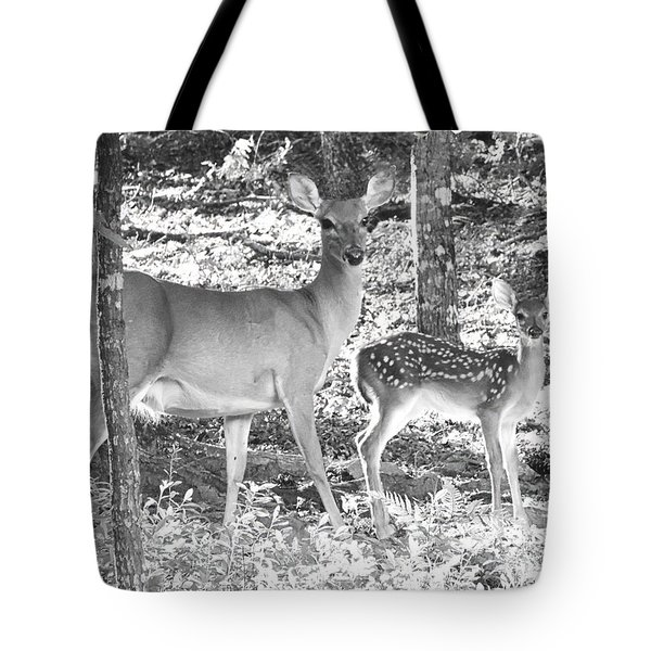 Mama And Junior Tote Bag