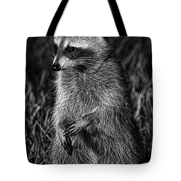 Mama Raccoon Tote Bag