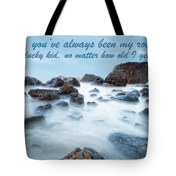 Mama, You've Always Been My Rock - Mother's Day Card Tote Bag