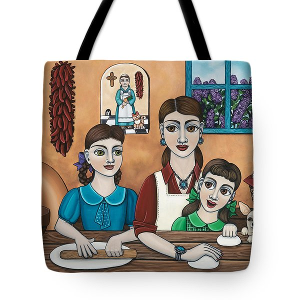 Mamacitas Tortillas Tote Bag