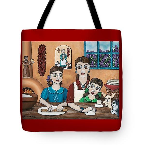 Mamacitas Tortillas Tote Bag