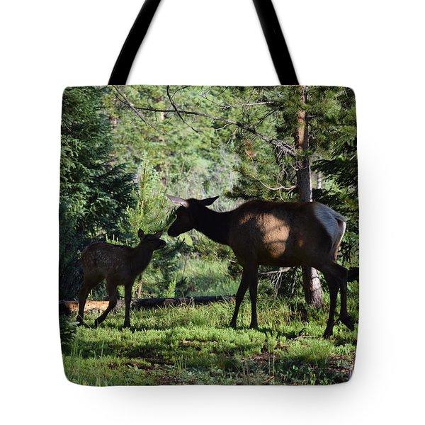 Elk Calf - Mother Rmnp Co Tote Bag