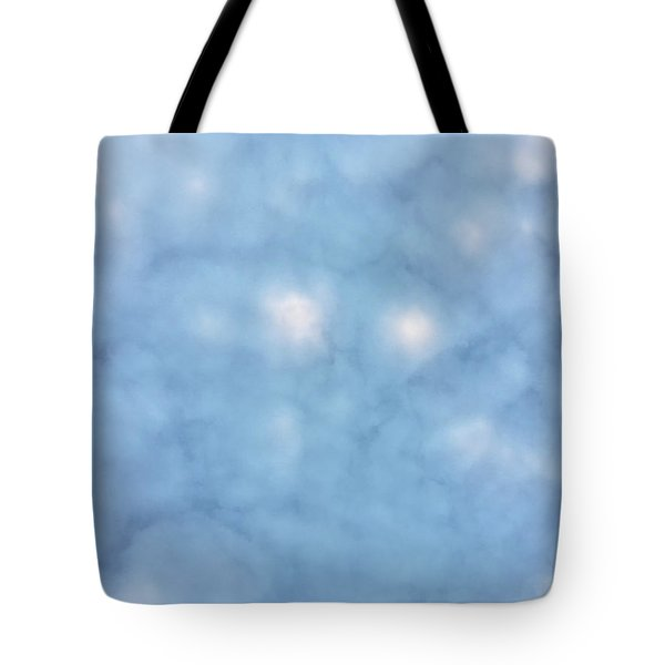 Mammatus Clouds Forming Tote Bag by Angela A Stanton