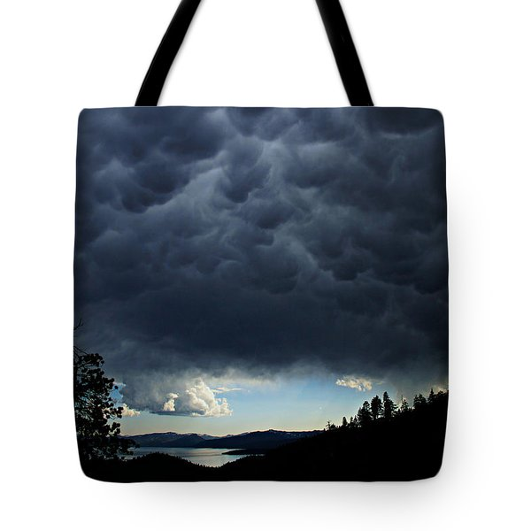 Tote Bag featuring the photograph Mammatus by Sean Sarsfield