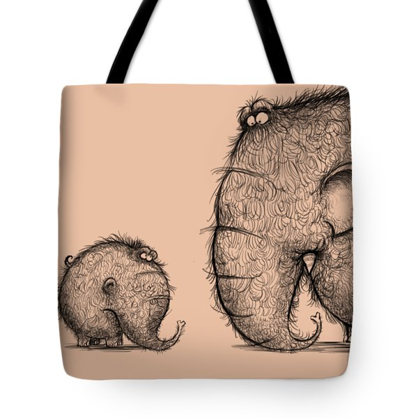 Mammothz Tote Bag by Andy Catling