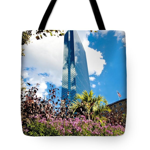 Man And Nature Tote Bag by Greg Fortier