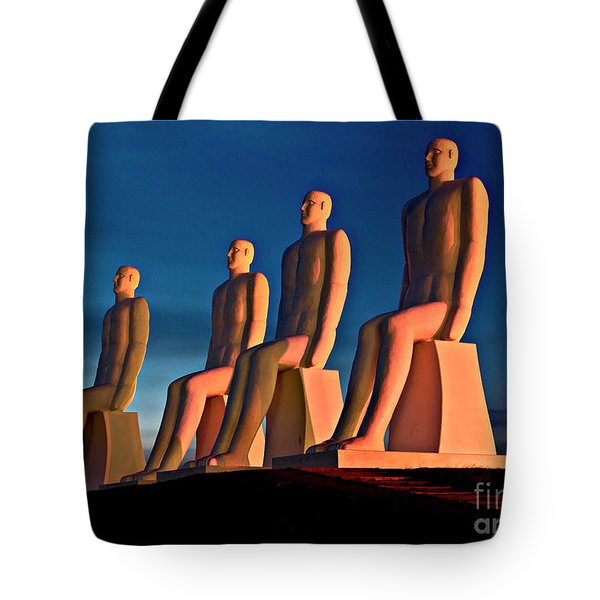 Man At Sea  Tote Bag