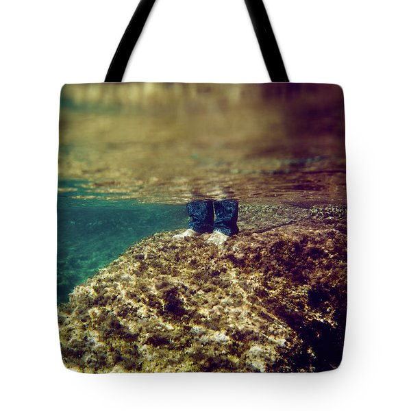 Man Feet Tote Bag
