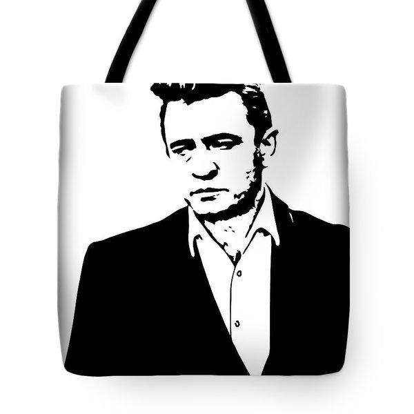 Man In Black Minimal Tote Bag