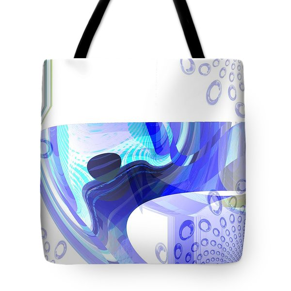 Man In The Air Tote Bag by Thibault Toussaint