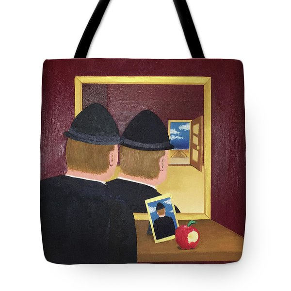Man In The Mirror Tote Bag