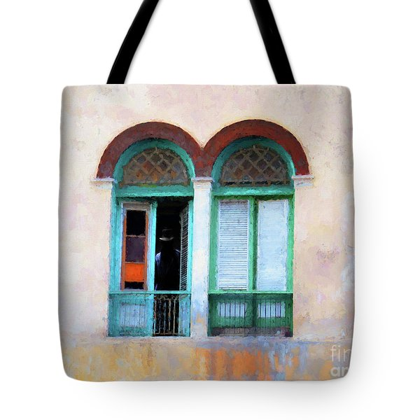 Man In The Shadows Tote Bag by Jim  Hatch