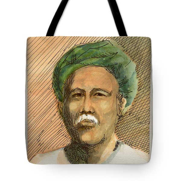 Man In Turban Tote Bag