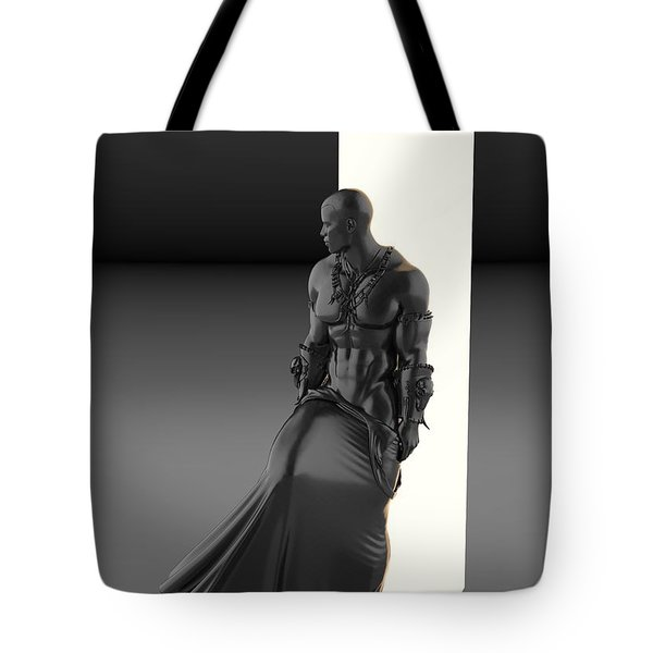 Man Lamp Number Eleven Tote Bag