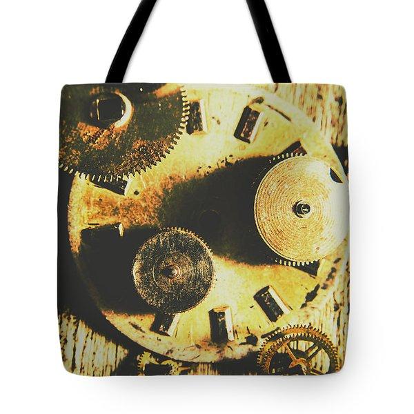 Man Made Time Tote Bag