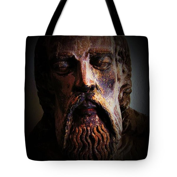 Tote Bag featuring the photograph Man Of Color 1 by Maria Huntley