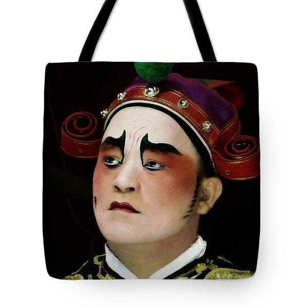 Man Of Colour Tote Bag