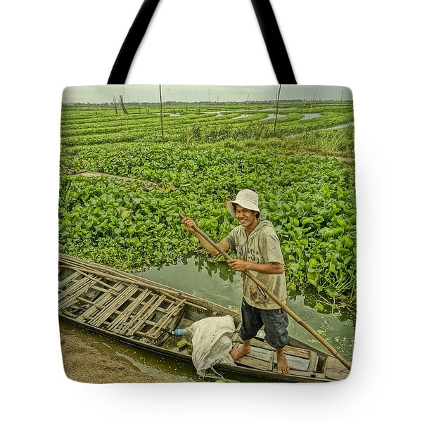 Man Of Daily Life Tote Bag