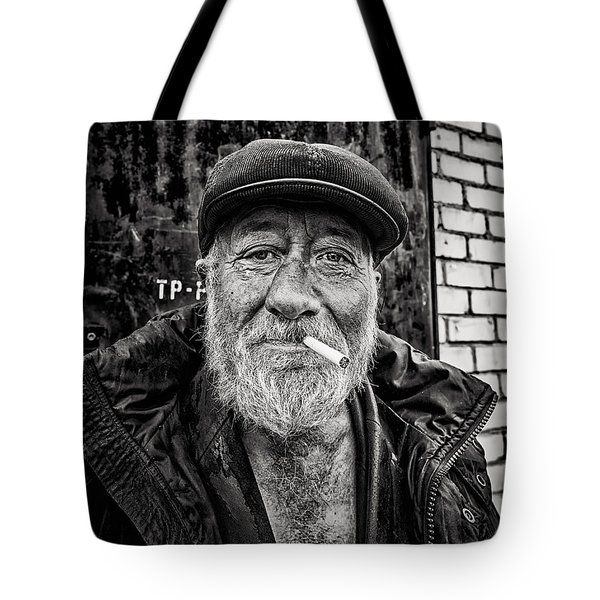 Tote Bag featuring the photograph Man Of Freedom by John Williams