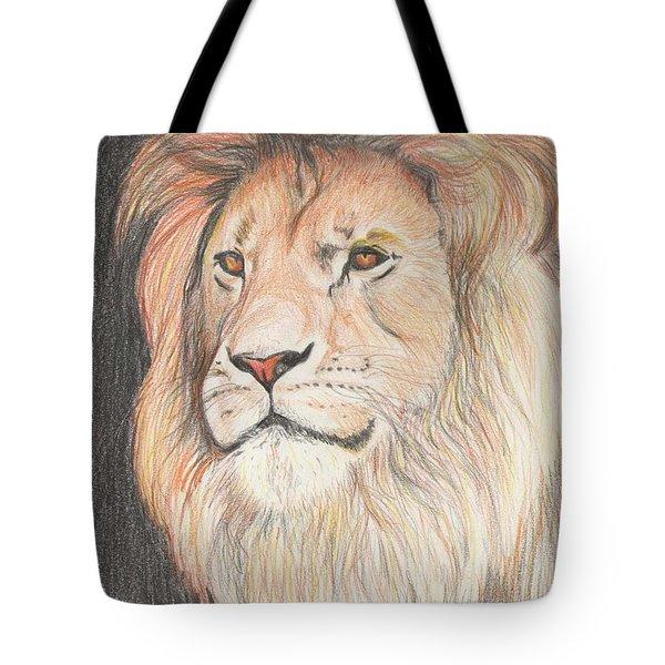 Man Of His Pride Tote Bag
