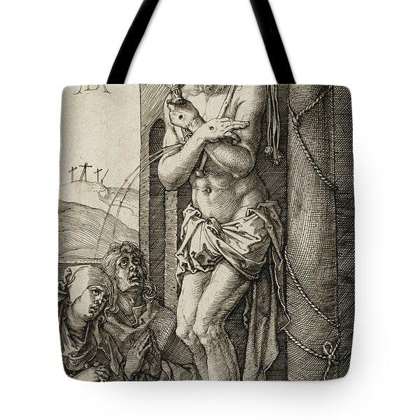 Man Of Sorrows Tote Bag