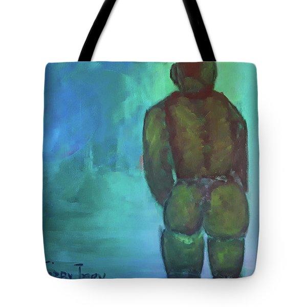 Man Shape Tote Bag