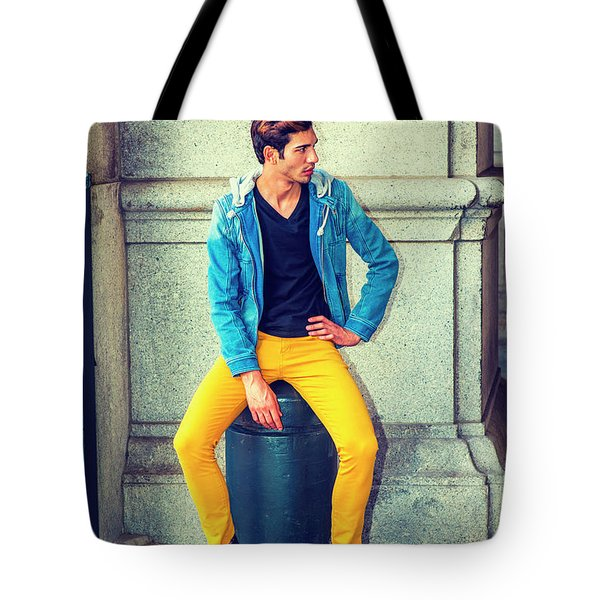 Man Street Fashion Tote Bag