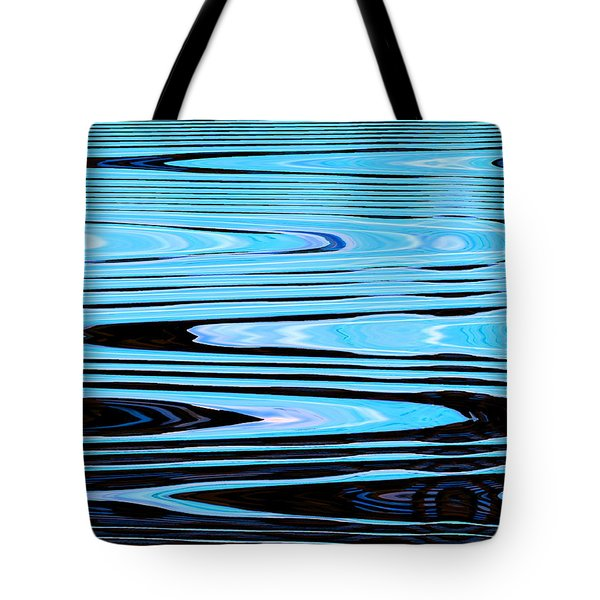 Man Under Ice Tote Bag