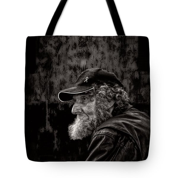 Man With A Beard Tote Bag