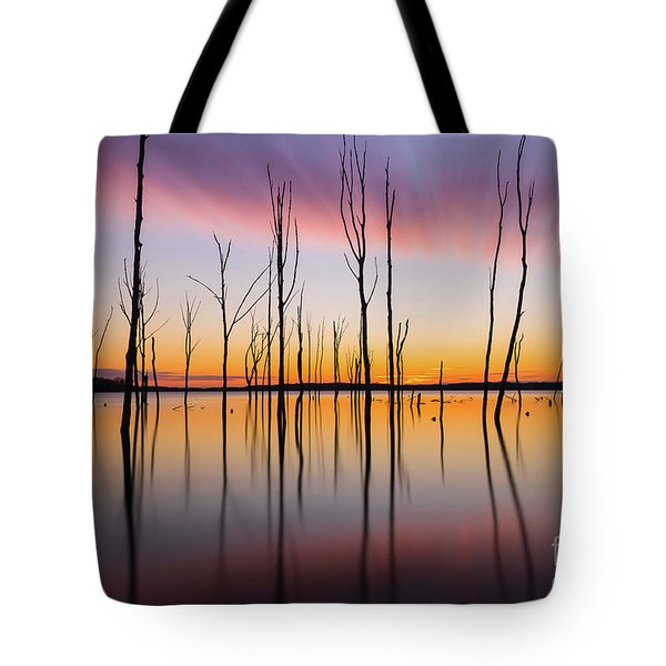 Manasquan Reservoir Long Exposure Tote Bag