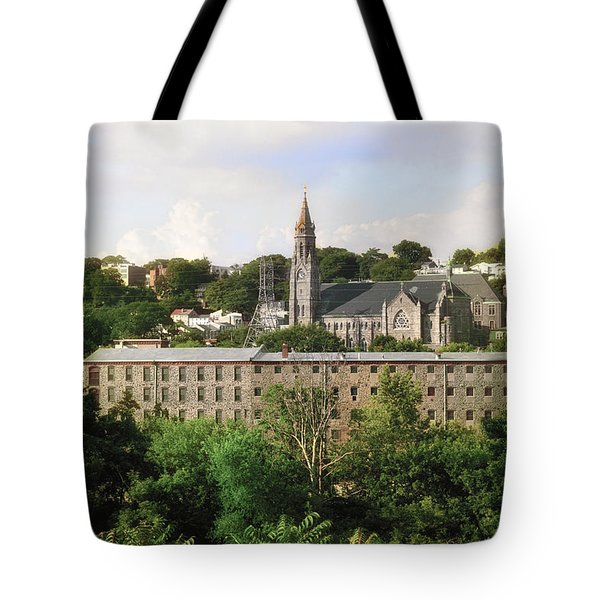 Manayunk Tote Bag by Bill Cannon