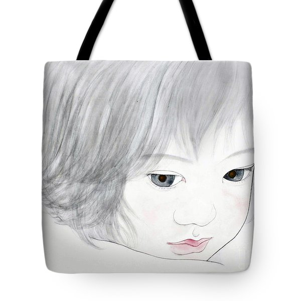 Manazashi Or Gazing Eyes Tote Bag