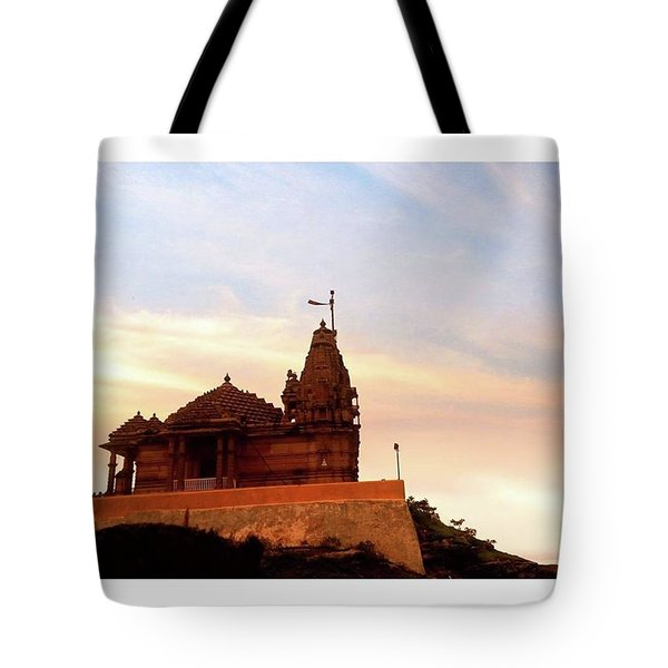 Manbhavan Tekri Tote Bag
