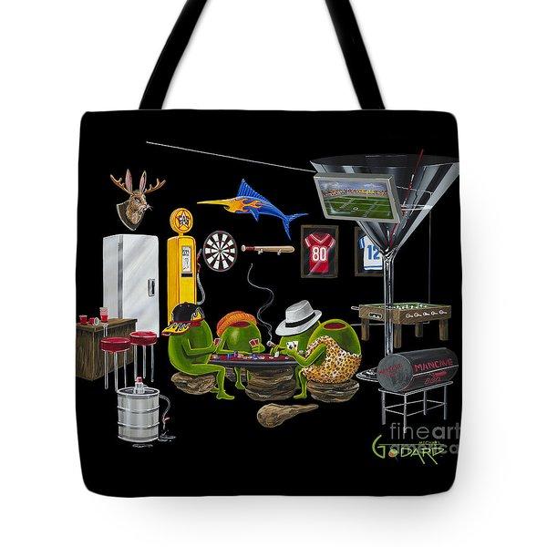 Mancave Tote Bag