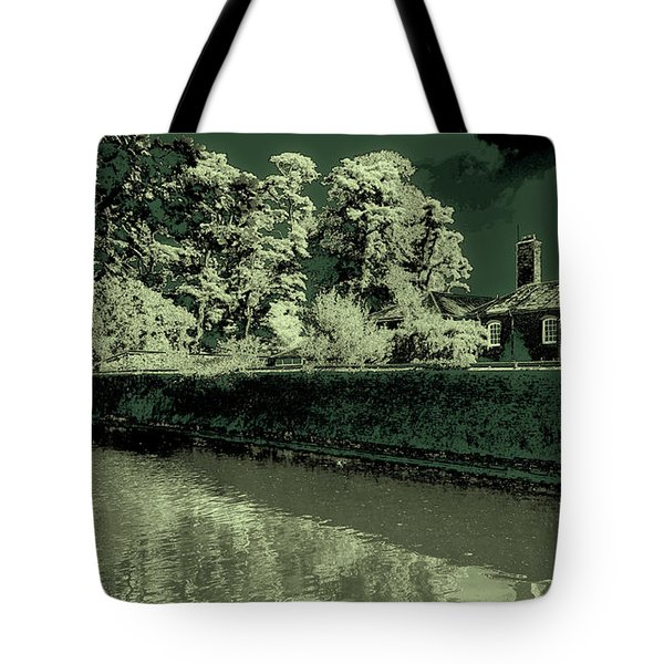 Tote Bag featuring the photograph Manchester Factory by David Patterson