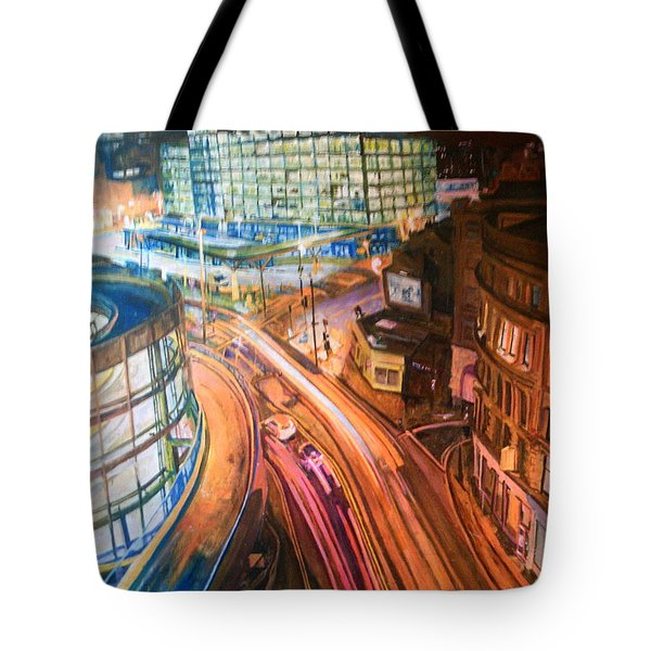 Manchester High Street Tote Bag