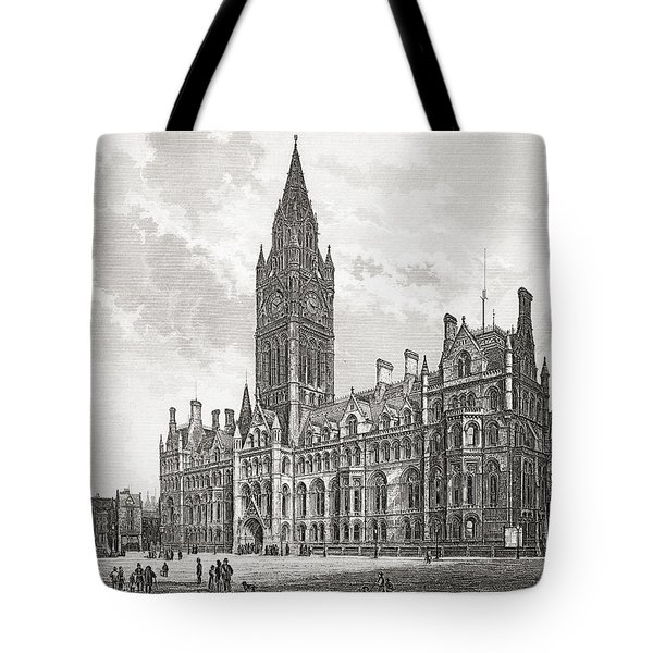 Manchester Town Hall, Manchester Tote Bag