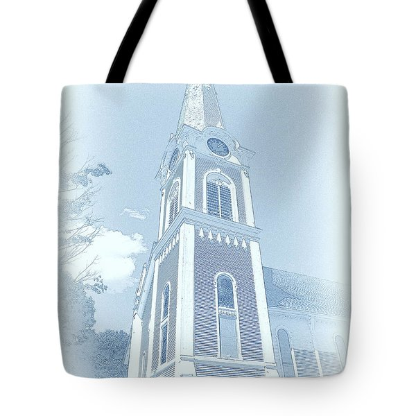Manchester Vt Church Tote Bag