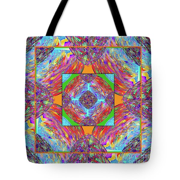 Mandala #1 Tote Bag by Loko Suederdiek