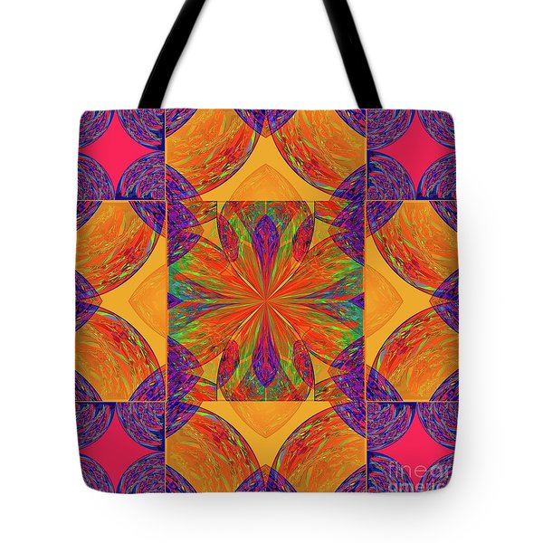 Mandala #2  Tote Bag by Loko Suederdiek