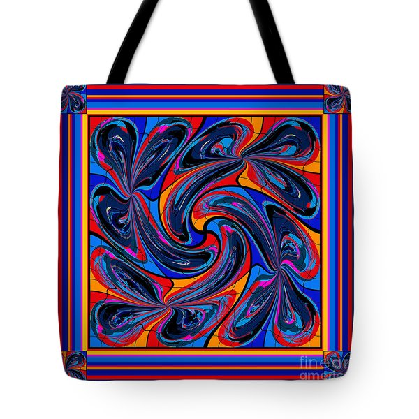 Mandala #3 Tote Bag by Loko Suederdiek
