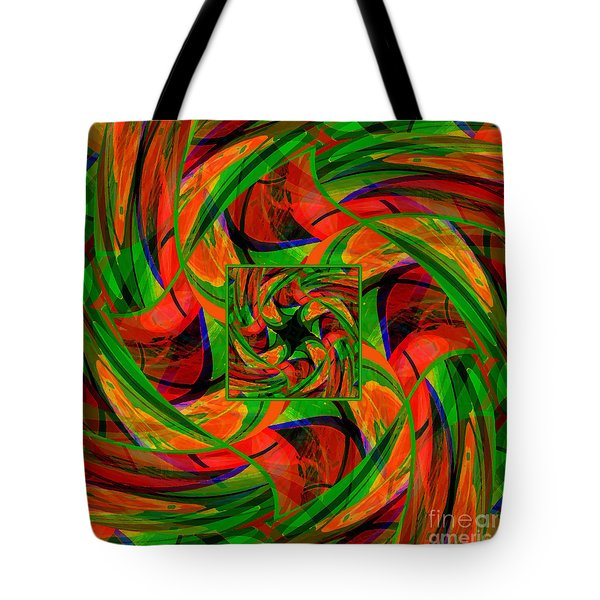 Mandala #36 Tote Bag by Loko Suederdiek