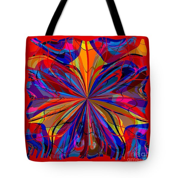 Mandala #4 Tote Bag by Loko Suederdiek