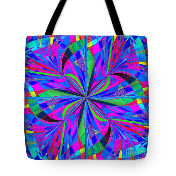 Mandala #46 Tote Bag by Loko Suederdiek