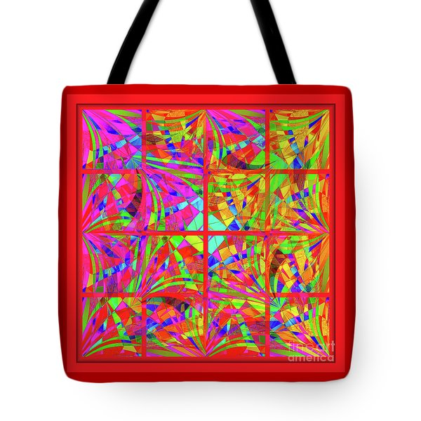 Mandala #48 Tote Bag by Loko Suederdiek