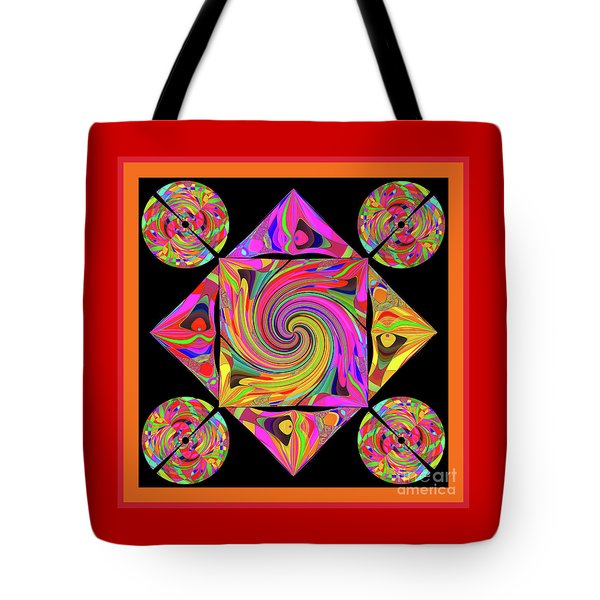 Mandala #50 Tote Bag by Loko Suederdiek