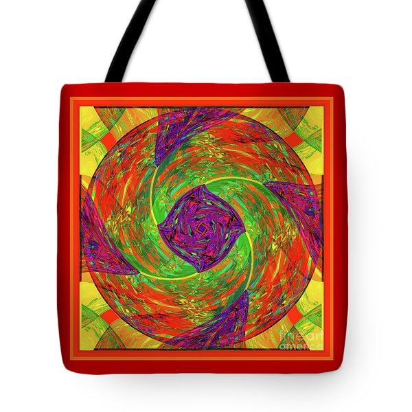 Mandala #55 Tote Bag by Loko Suederdiek