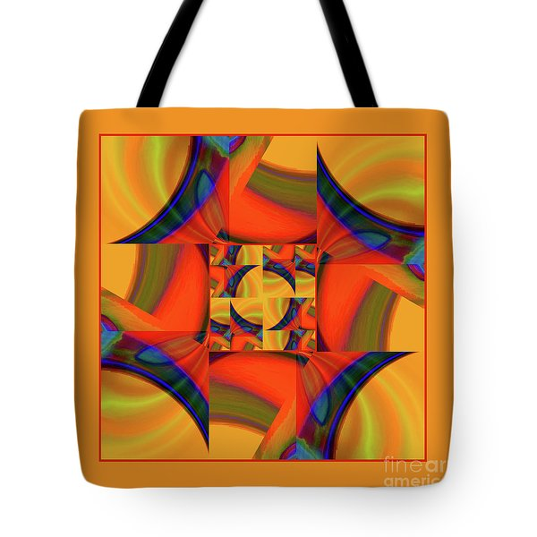 Mandala #56 Tote Bag by Loko Suederdiek